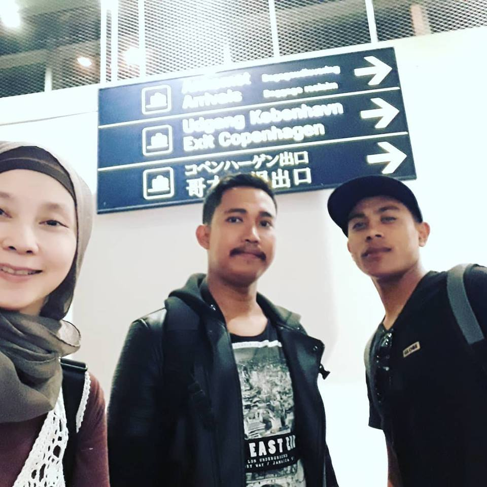 3 orang solo traveler yang saling menitipkan diri, bergabung di perjalanan. Ki-ka: saya, mas Sulaiman, Bli Putu.