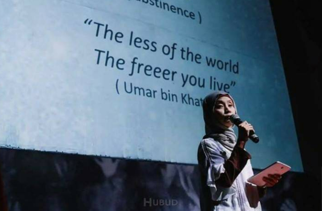Presentasi Sufism, Mysticism in Islam dalam acara Pecha Kucha di Ubud 2016