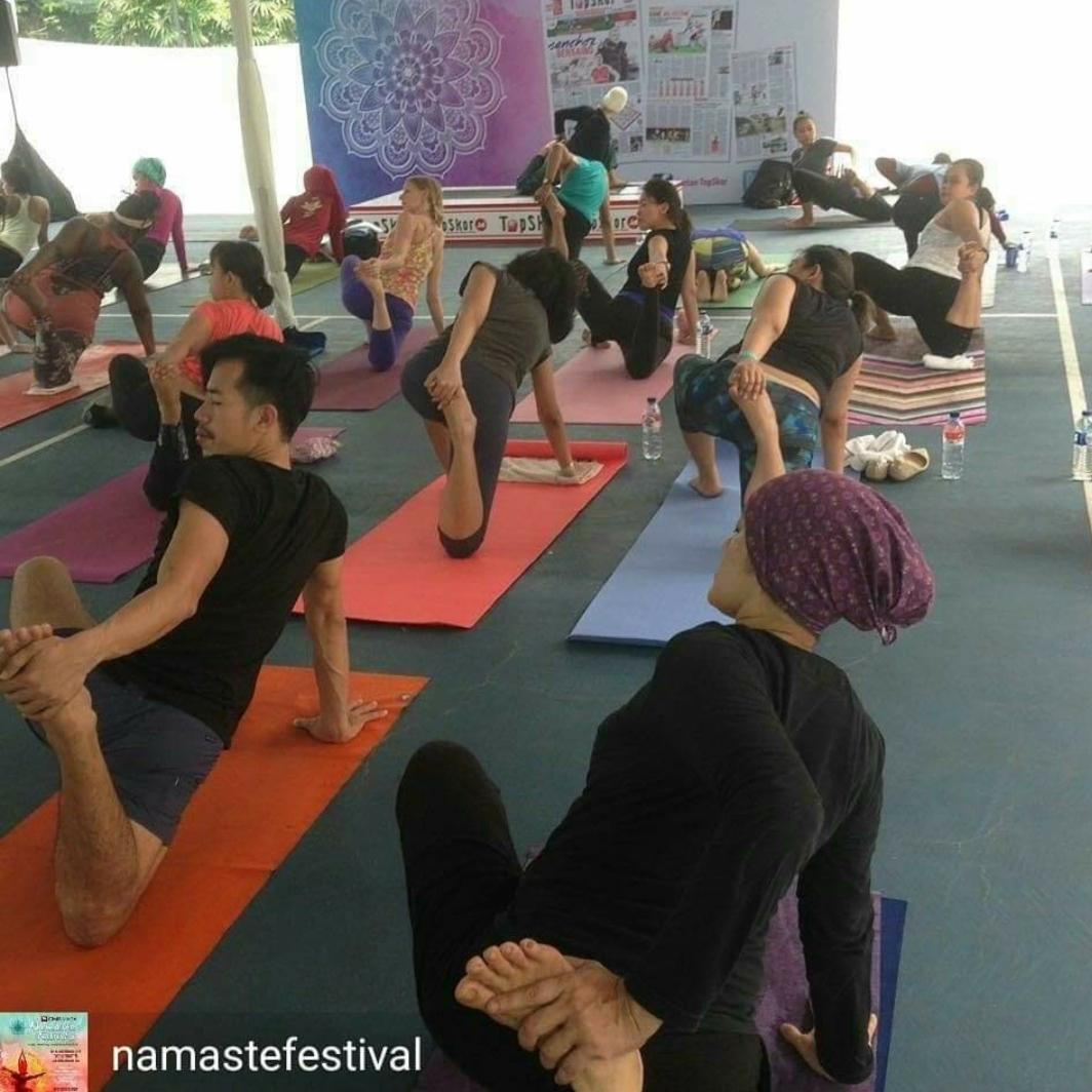 Yoga Sufi di Namaste Festival 2017