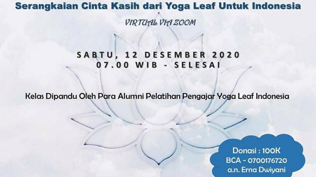 Festival Yoga Virtual: Serangkaian Cinta Kasih Dari Yoga Leaf Untuk Indonesia