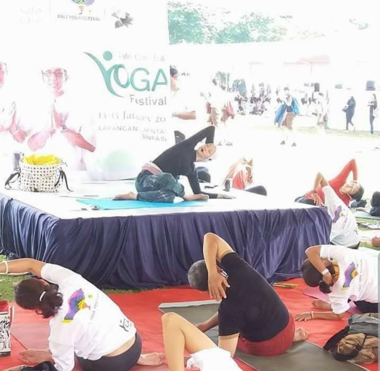 Yoga Sufi di Bali Yoga Festival 2017